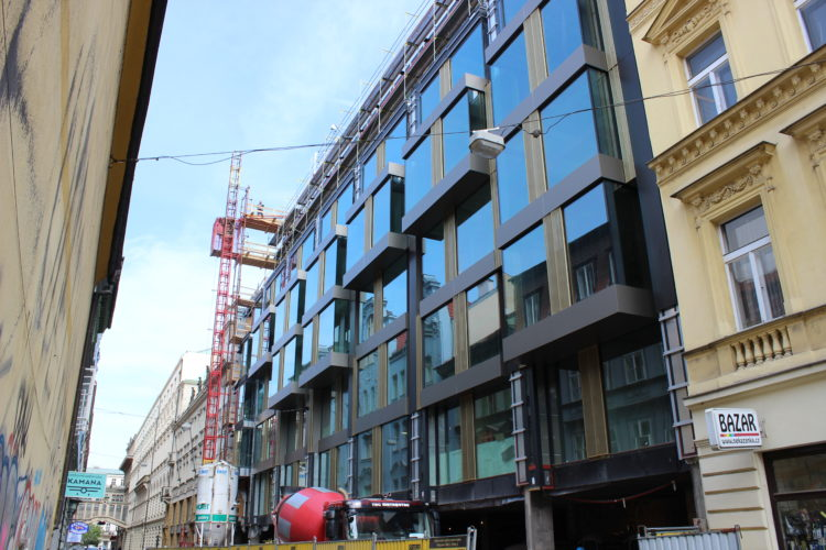 Rekonstrukce v centru Prahy