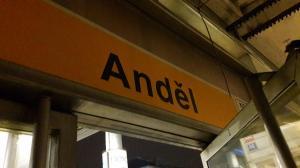 1 Tesan sanace eskalátorů stanice metra Anděl