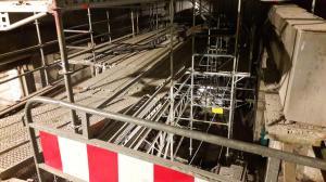 2 Tesan sanace eskalátorů stanice metra Anděl