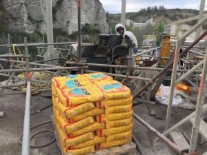 Sanace cementového sila Čertovy schody TESAN