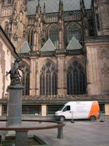 Sanace stropu Chrámu svatého Víta v Praze Tesan