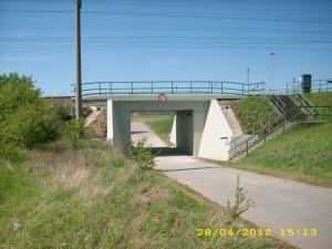 TESAN sanace železničního  mostu