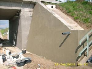 TESAN sanace železničního  mostu 2