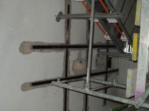 UHLÍKOVÉ VÝZTUŽE TESAN uhlikove lamely pri dodatecne vyvrtanych otvorech