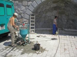 cementova injektaz niky na rasinove nabrezi