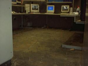 injektáž trhlin kancelářské podlahy