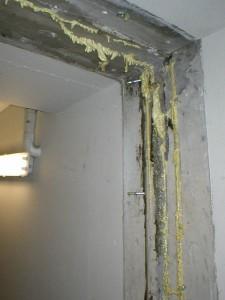 zainjektovana pracovni spara v podzemni garazi